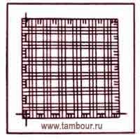 Строчевая сетка - www.tambour.ru