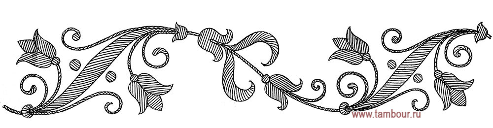 Орнаменты узоры для вышивки гладью