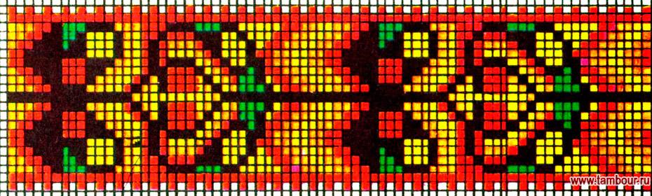 Счетные схемы для вышивки крестом