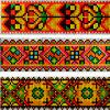 3 гуцульских орнамента - www.tambour.ru