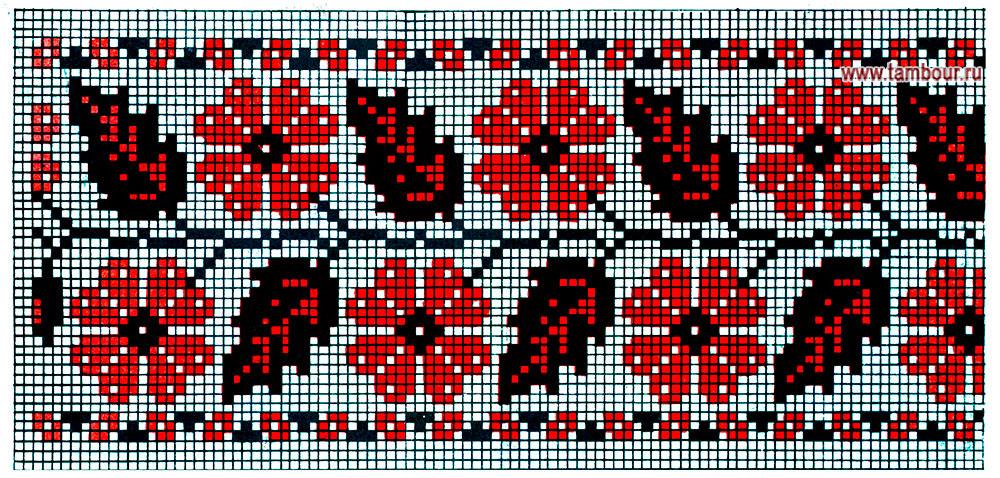 Вышивки крестом орнамент 16