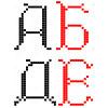 Русский алфавит - www.tambour.ru