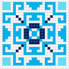 Вышитый квадрат - www.tambour.ru